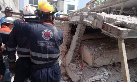 Apoya equipo USAR guanajuatense a víctimas de terremoto