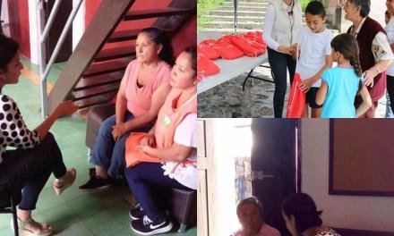La labor social de la casa de enlace de la diputada Guadalupe Velázquez