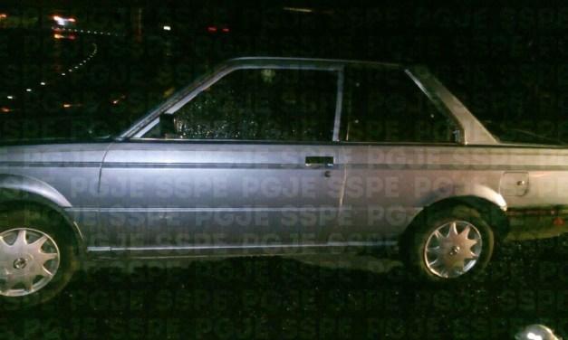 En Purísima recuperan auto robado
