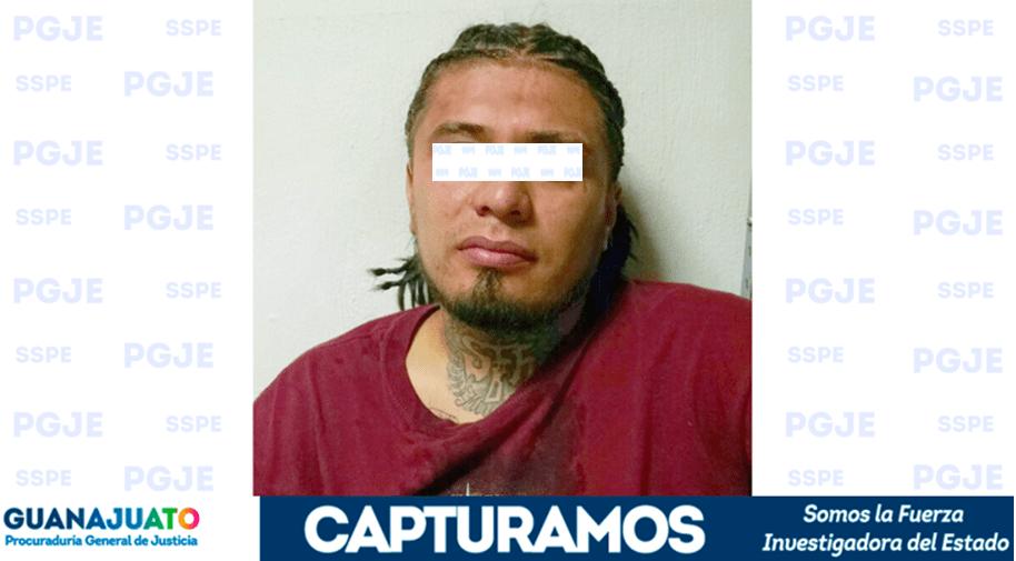 """Capturan a """"El Carpio""""; presunto homicida de """"El Tino"""""""