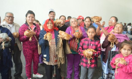 En San Francisco del Rincón apoyan con aves a 250 familias