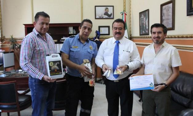 Inicia colecta de bomberos con donativo de presidencia