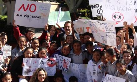 Infancia de San Francisco dice NO a la violencia