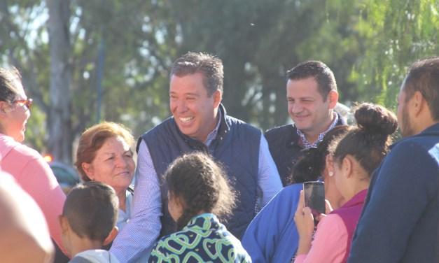 Gobernador arranca obra de planta tratadora en Manuel Doblado