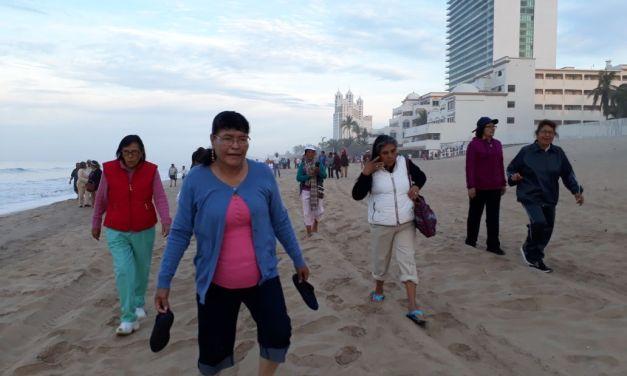 Adultos mayores de SFR disfrutan de viaje a Mazatlán