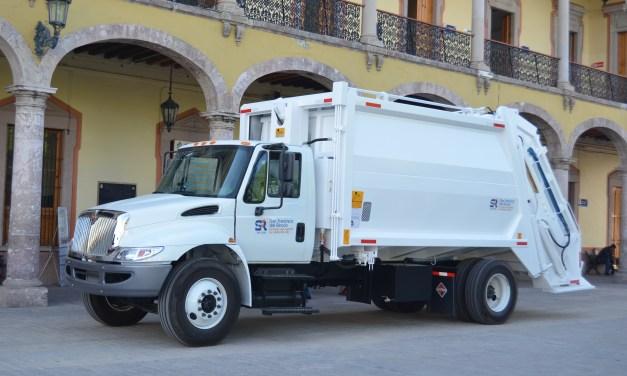 Presentan nuevas unidades de Servicios Públicos en San Francisco del Rincón