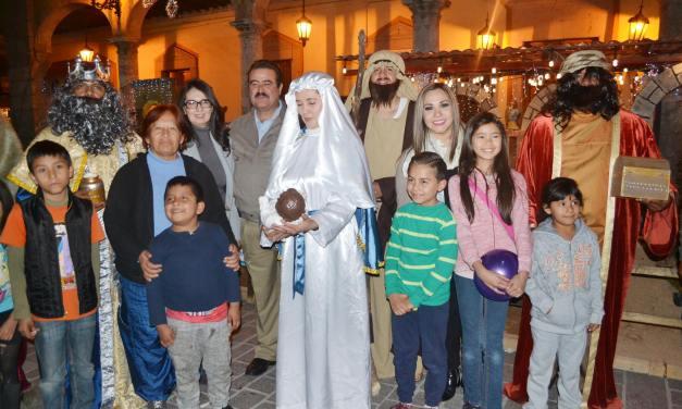 Festeja DIF San Francisco del Rincón a infantes por día de Reyes