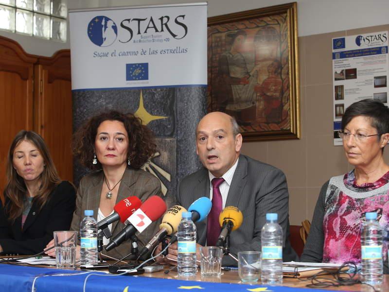 gloria merayo programa Stars albergue de peregrinos /