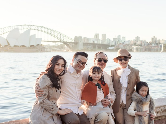 Family Photo Session//Lady Macquarie's Chair Sydney