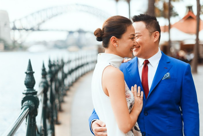 Sydney Opera House& Harbour Bridge & Botanic Gardens Pre Wedding Photo Session