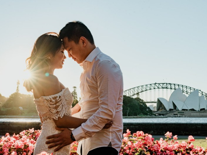 Sydney Opera House + Macquarie's Chair Couple Session