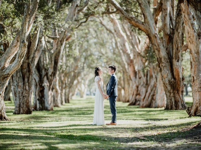 Chau and Kevin's Centennial Park Wedding