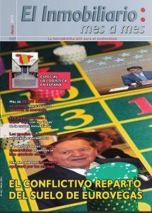Revista El Inmobiliario mes a mes, número 123, marzo de 2013. Noticias del sector inmobiliario español.