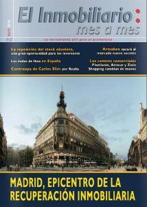 Revista El Inmobiliario mes a mes, número 142, abril de 2015. Noticias del sector inmobiliario español.