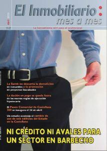 Revista El Inmobiliario mes a mes, número 124, abril de 2013. Noticias del sector inmobiliario español.