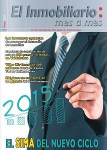 Revista El Inmobiliario mes a mes, número 143, mayo de 2015. Noticias del sector inmobiliario español.