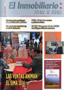 Revista El Inmobiliario mes a mes, número 136, junio-julio de 2014. Noticias del sector inmobiliario español.