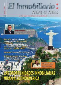 Revista El Inmobiliario mes a mes, número 126, julio-agosto de 2013. Noticias del sector inmobiliario español.