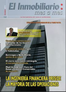 Revista El Inmobiliario mes a mes, número 128, octubre de 2013. Noticias del sector inmobiliario español.