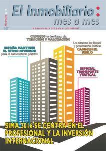 Revista El Inmobiliario mes a mes, número 151, abril mayo 2016. Noticias del sector inmobiliario español.