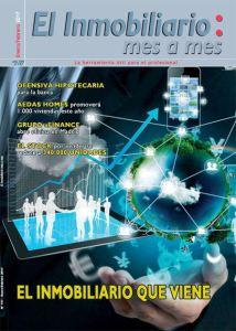Revista El Inmobiliario mes a mes, número 157, enero febrero 2017. Noticias del sector inmobiliario español.