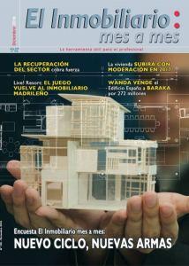 Revista El Inmobiliario mes a mes, número 156, diciembre 2016. Noticias del sector inmobiliario español.