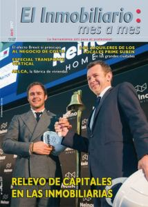 Revista El Inmobiliario mes a mes, número 159, abril 2017. Noticias del sector inmobiliario español.