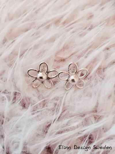 Silverörhängen handgjorda
