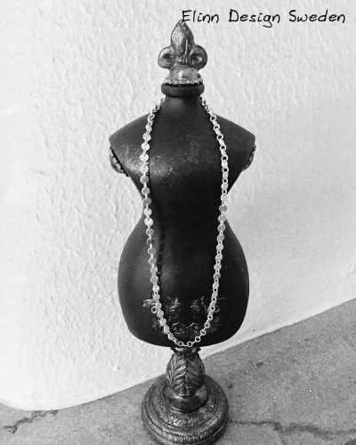 silvercoins halsband handgjort