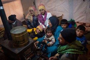 Refugiados en el Líbano: no sólo huyen de Siria, sino también de Afganistán, Irak, Gaza, Eritrea, Yemen e incluso Haití.