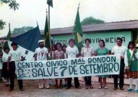 7 de setembro 1980 colégio sandoval meira