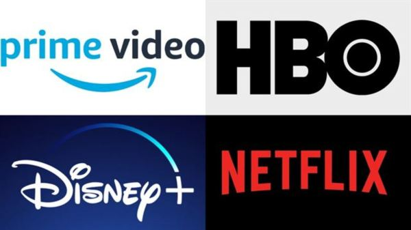 Netflix, HBO, Amazon y Disney