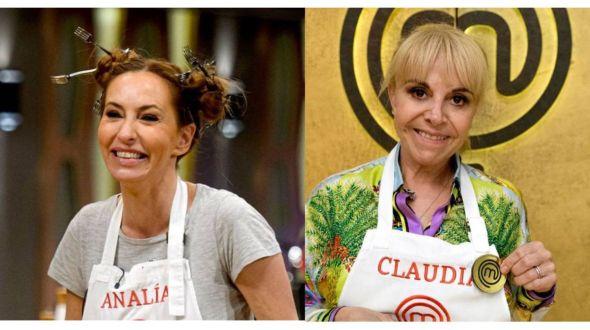 Analía Franchín y Claudia Villafañe