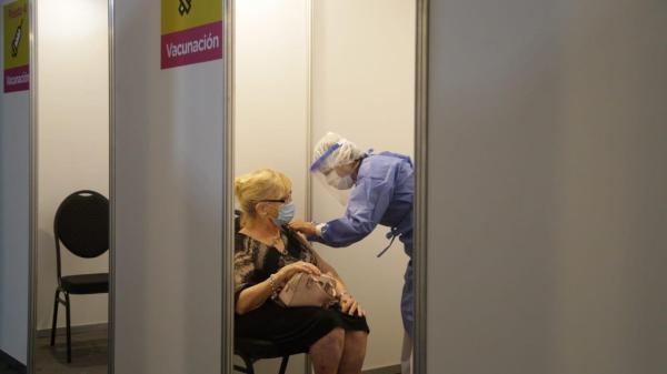 Vacunación contra el coronavirus en la Ciudad de Buenos Aires