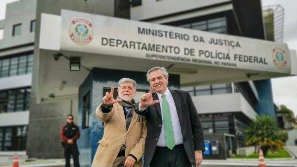 Alberto Fernández - Lula da Silva