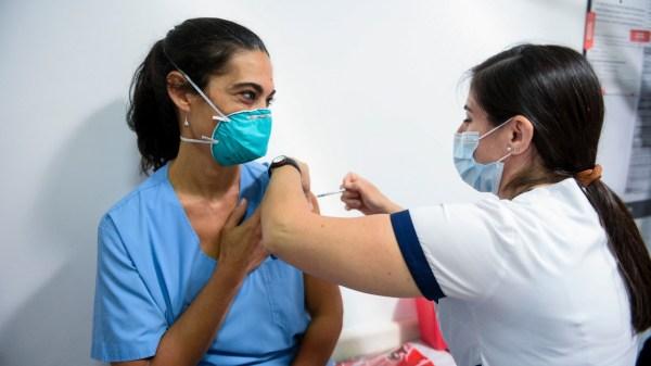 Más de 245.000 vacunas fueron aplicadas hoy en todo el país, un nuevo récord.