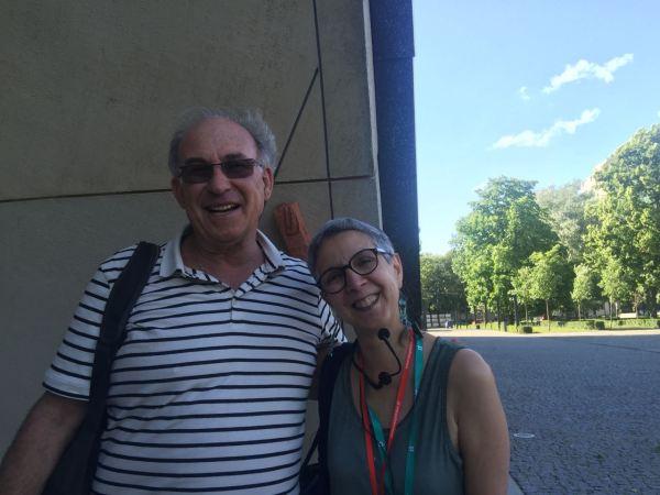 With Helise Lieberman