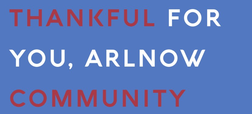 Thankful For You, ARLnow Community