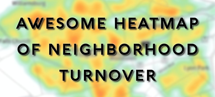 Awesome Heatmap of Neighborhood Turnover