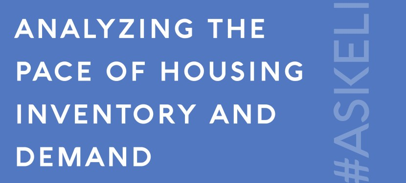 Analyzing the Pace of Housing Inventory and Demand