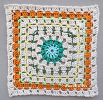 center square cushion cover