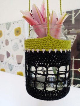 crochet pot hanger