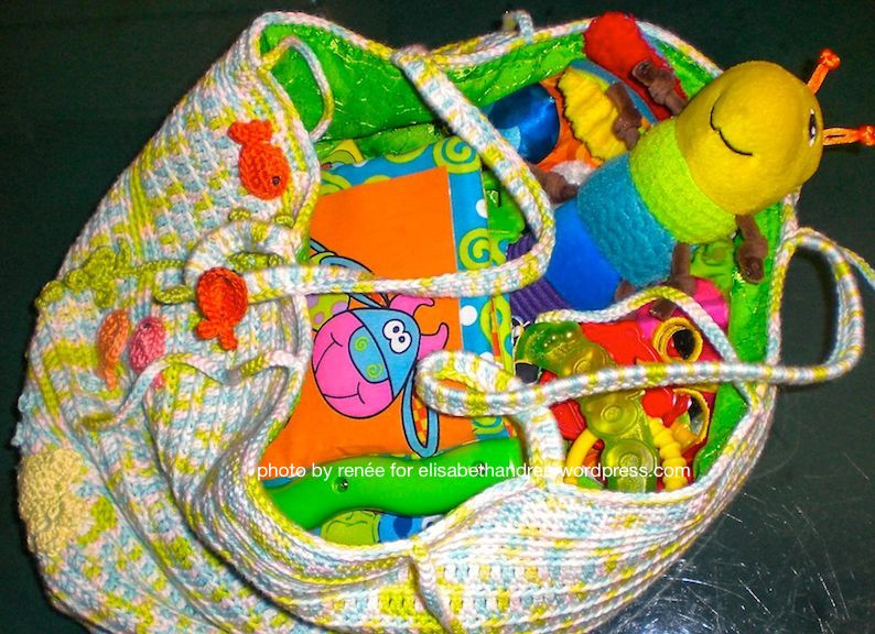 storage bag with toys