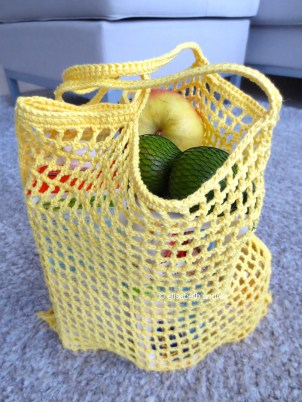 citron grocery bag