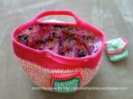 crochet bag and wallet for baby Sophie