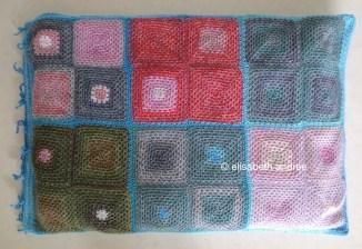 crochet doggie bed or floor cushion