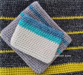 crochet work with scheepjes stonewashed XL yarn
