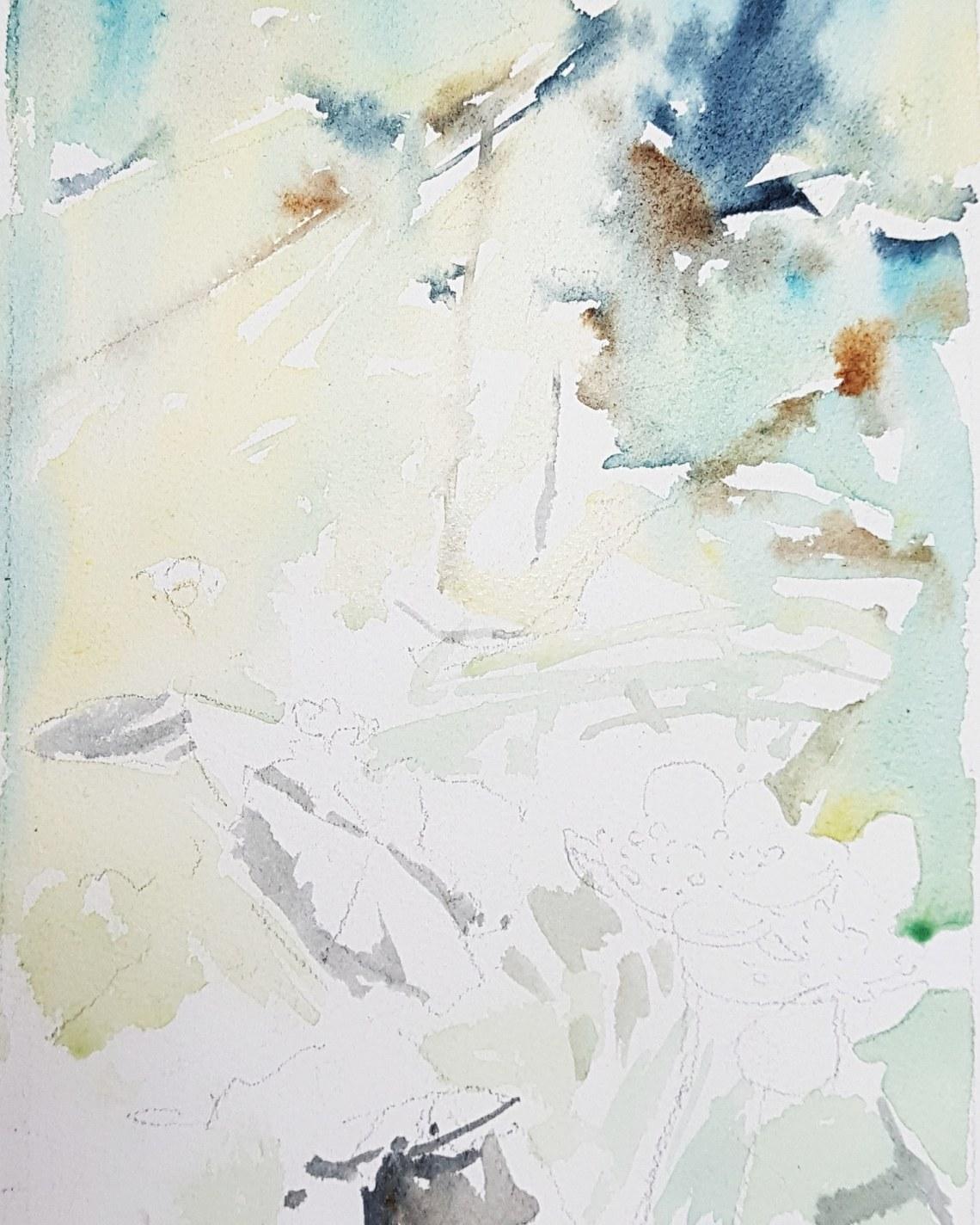 Elisabeth Biström akvarell