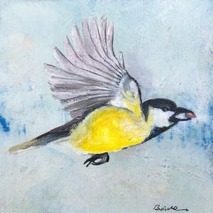 Chickadee_flying