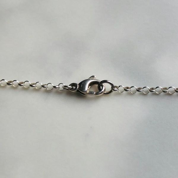 Necklace Blue Clasp